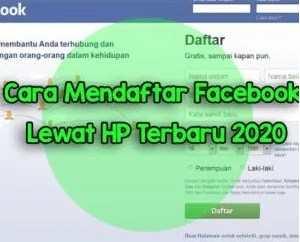 Membuat akun  FB