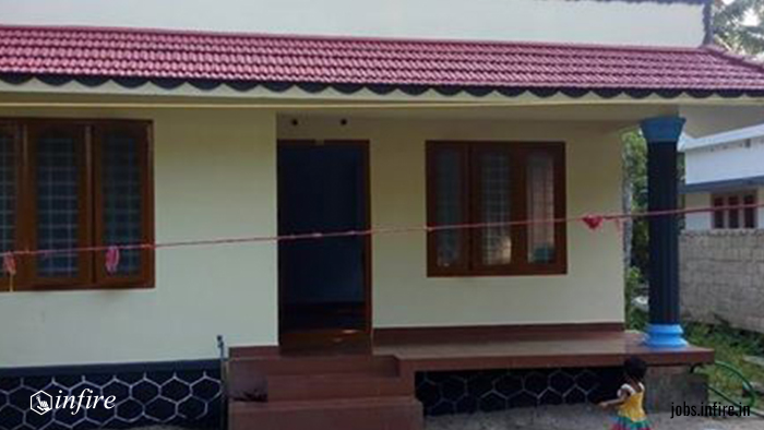 6.5 cent and House For Sale at Mannanchery, Alappuzha, Kerala