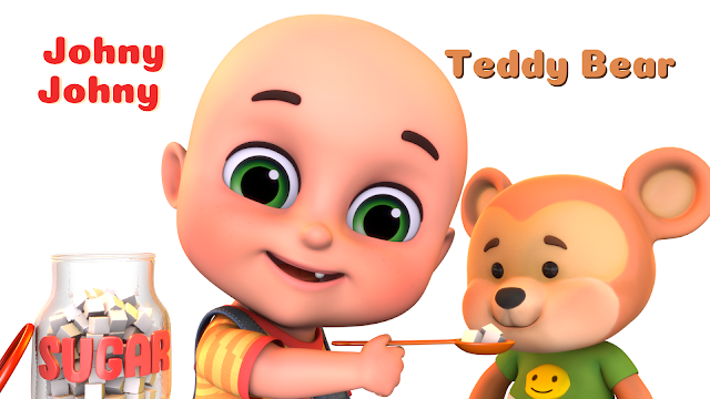 Johny Johny & Teddy Bear
