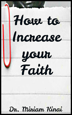How to increase your faith book