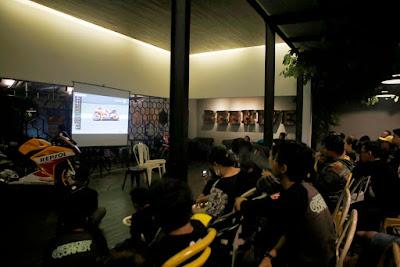 Komunitas Honda CBR nonton bersama MotoGP