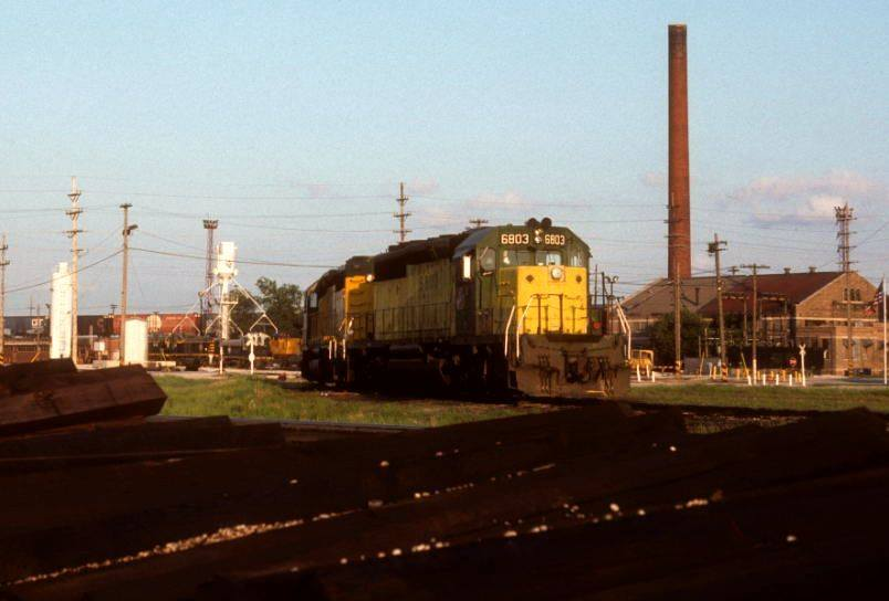 Industrial History: BRC Clearing Yard