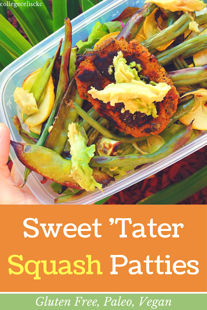 Sweet Potato Squash Patties (Gluten Free, Paleo, Vegan)