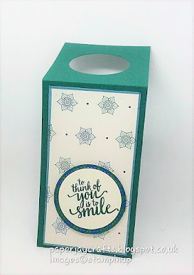 Paperjay Crafts, Tranquil Tide Wine Bottle Tag