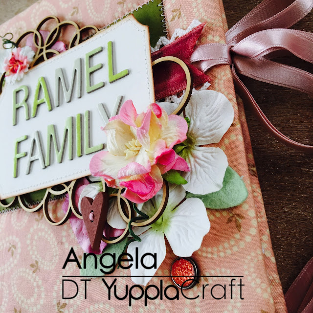 Family Album by Angela Tombari for Yuppla Craft Design Team
