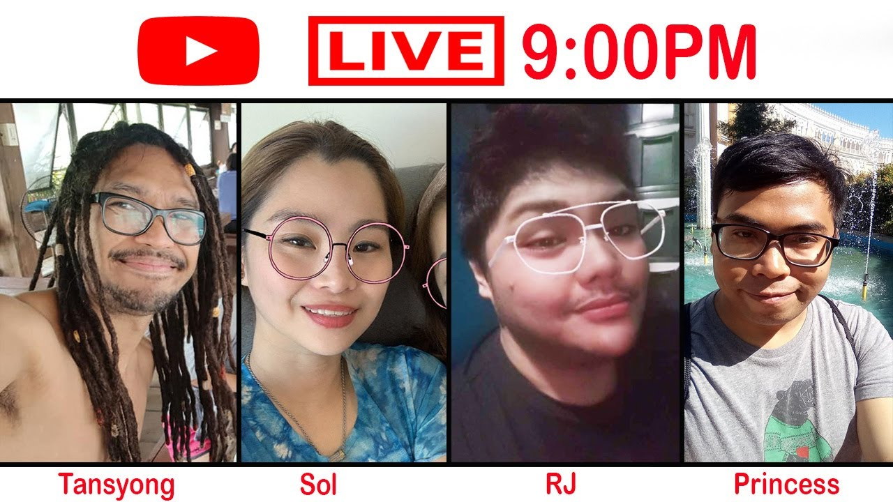Hello Tansyong Lovers, it is another live session, and in this episode, we have two guests - SOL and RJ.