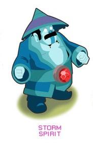 Hero Dota 2 Storm Spirit