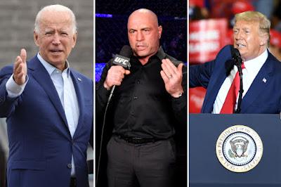 Trump Jumps on Offer to have Joe Rogan Moderate Debate with Joe Biden