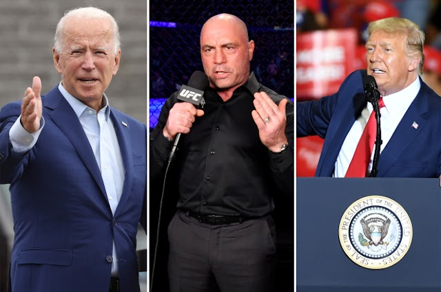 Trump Jumps on Offer to have Joe Rogan Moderate Debate with Joe Biden