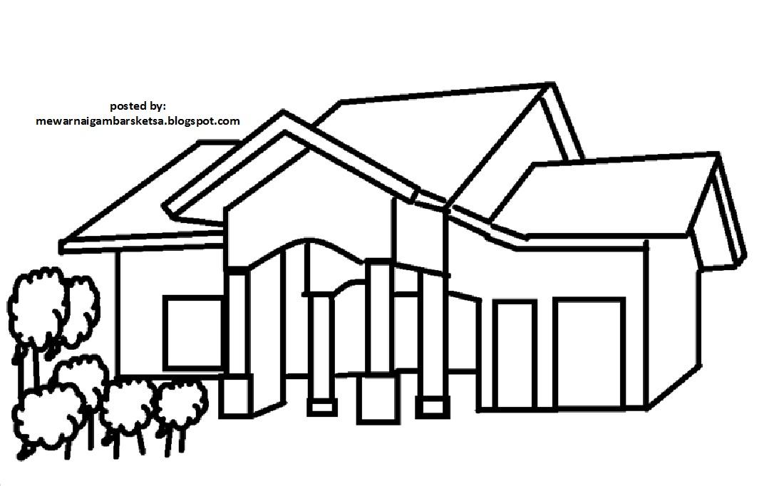 Mewarnai Gambar Sketsa Rumah 7 Karena Mereka Adalah Masa Depan