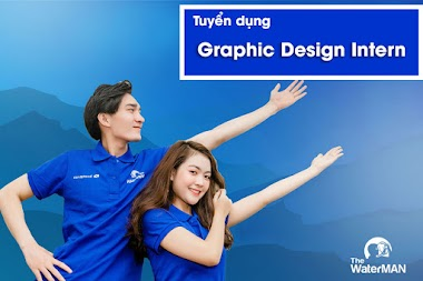 [The Water MAN] Tuyển dụng Graphic Design Intern