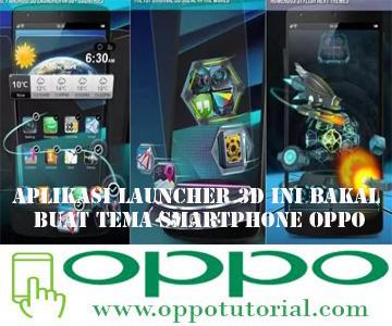 Aplikasi Launcher 3D
