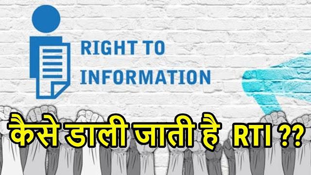 ऑनलाइन r t i कैसे करे का तरीका नियम full fom meaning in hindi