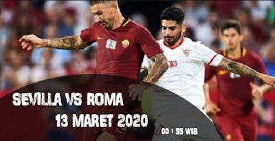 Prediksi Sevilla vs Roma 13 Maret 2020, Liga Eropa