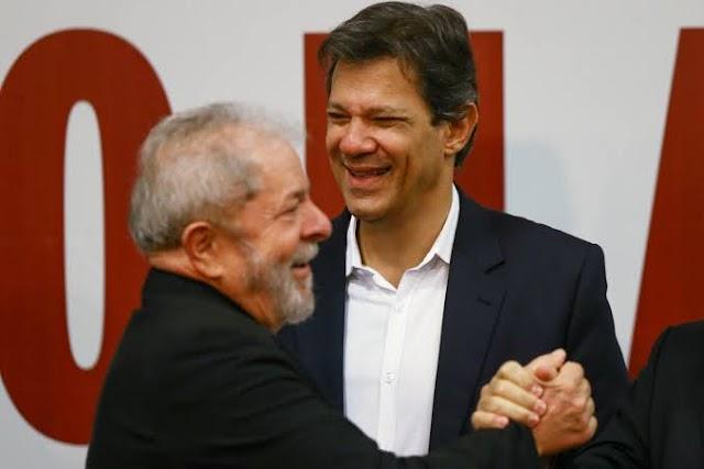 Fernando Haddad é o escolhido de Lula para disputar as eleições presidenciais em 2022