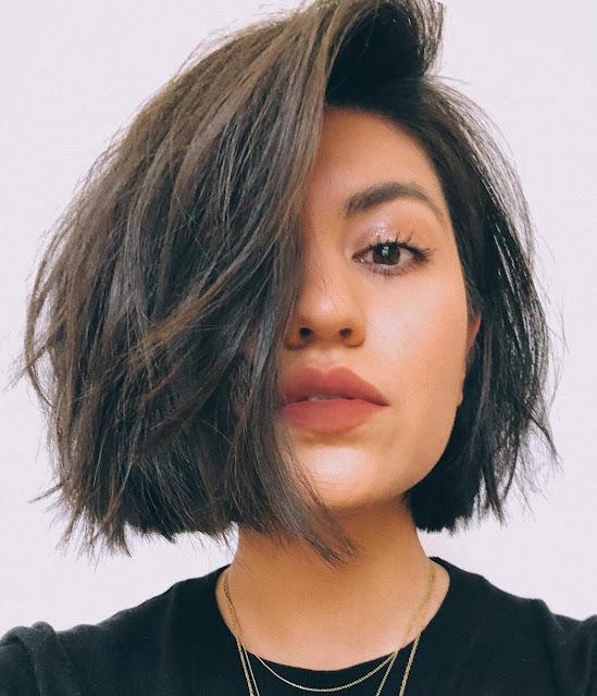 Shag Short Haircuts for Straight Hair