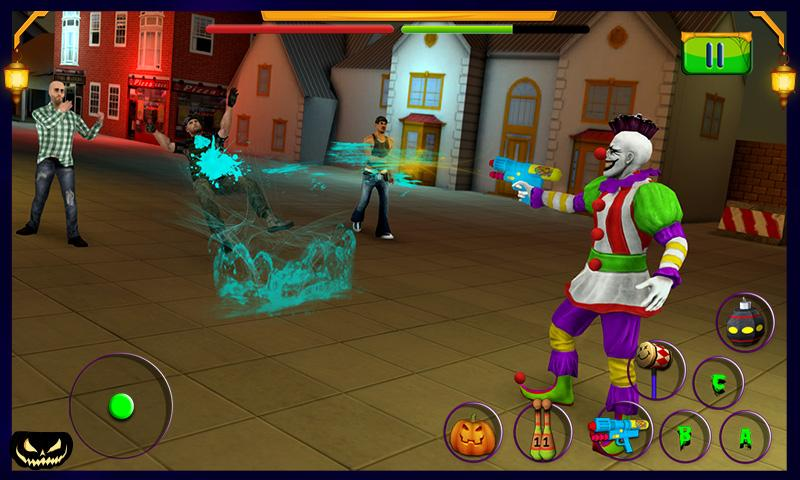 Scary Clown Halloween Night MOD APK