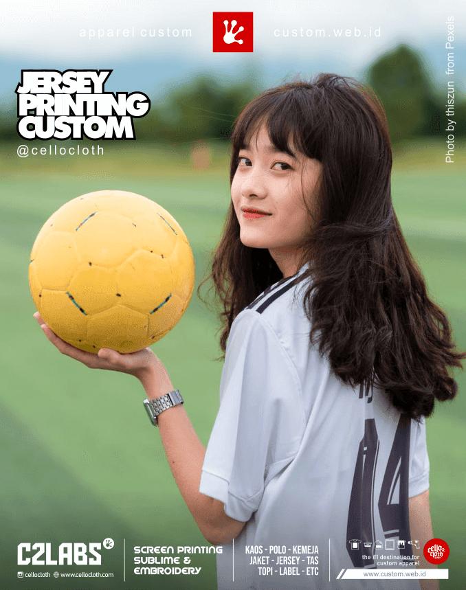 Jersey Futsal Custom Bahan Microfiber Adem - Vendor Jersey Jogja