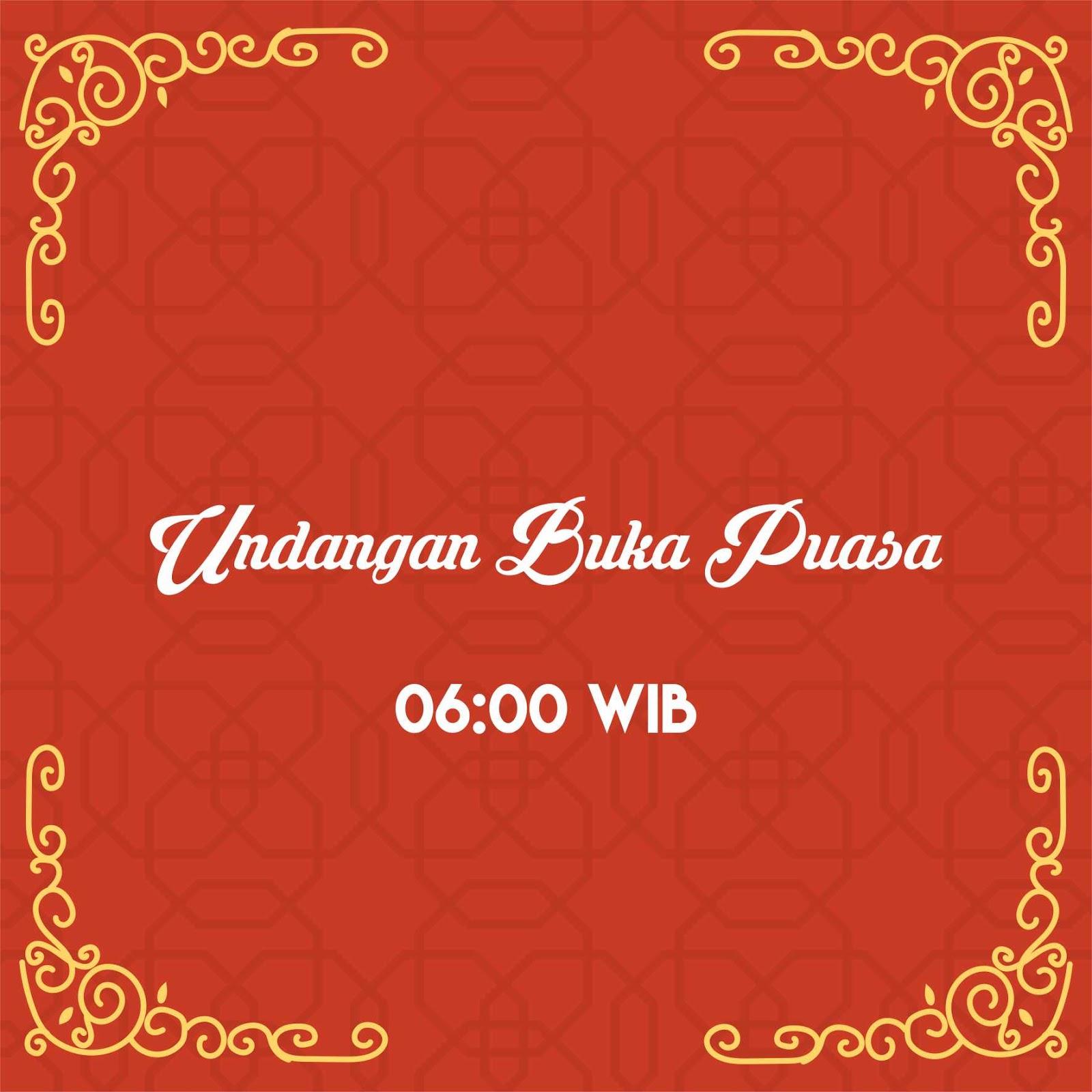 Undangan Buka Puasa Vector Logos And Design For Free Download