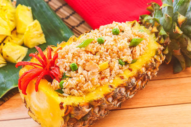 Recipes: Appetizing Fried Rice With Fruit