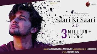 Sari Ki Sari 2.0 Lyrics - Darshan Rawal