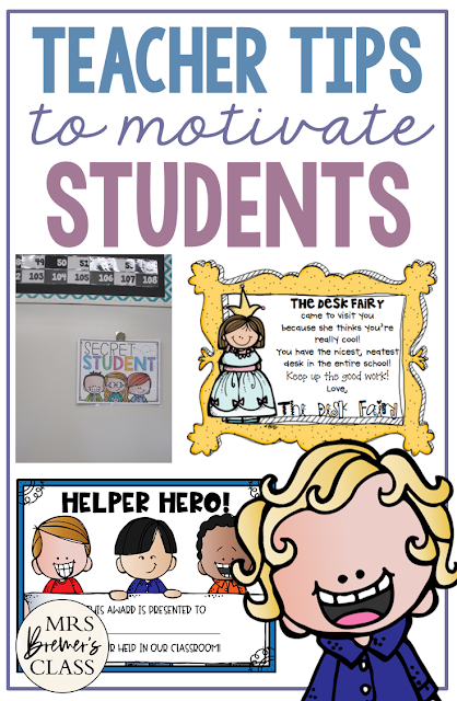 These tips went a LONG way in motivating my second grade students in their behavior and in their learning.
