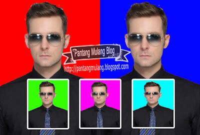 Cara Mengganti Warna Background Pas Foto dengan Photoshop
