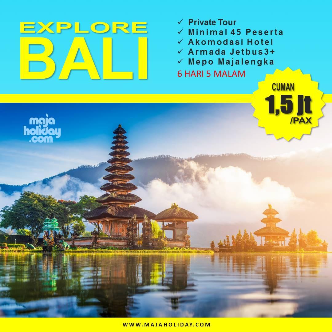 Baner Paket Wisata Ke Bali Dari Majalengka 6 Hari 5 Malam