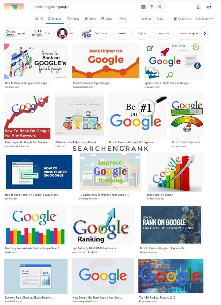 How to Optimize and rank in Google Image Search