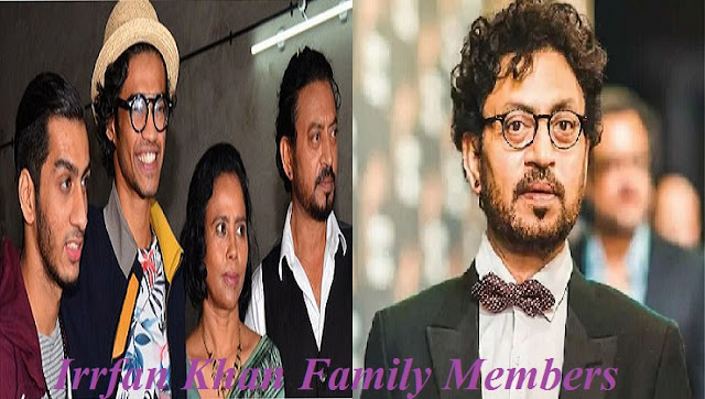 Irrfan Khan family members