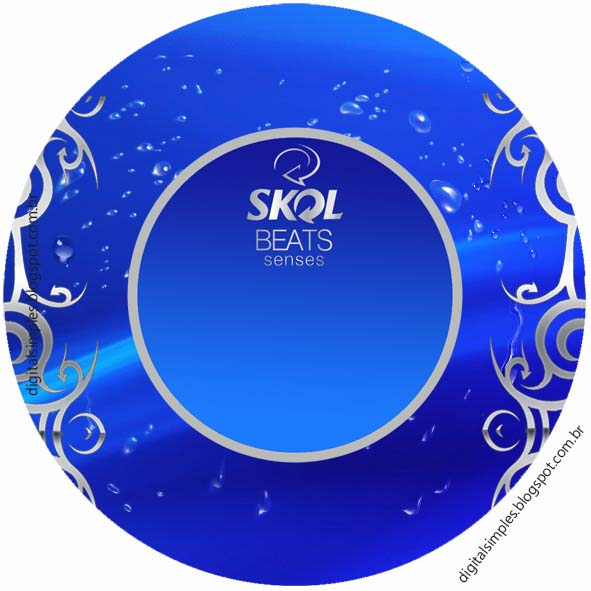 Kit Festa Aniversario Boteco Skol Beats Senses Convites