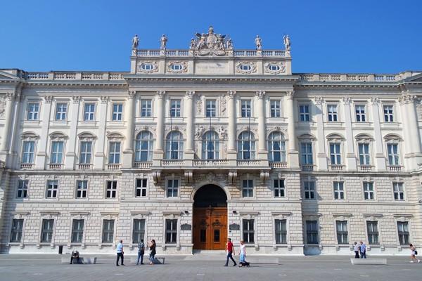 trieste Piazza Unità palais lloyd