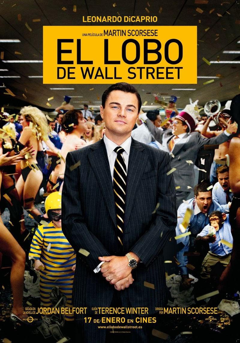 El lobo de Wall Street - cartel