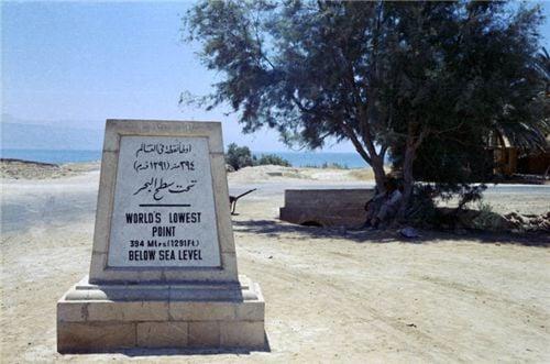 10 điều thú vị về Biển Chết 1