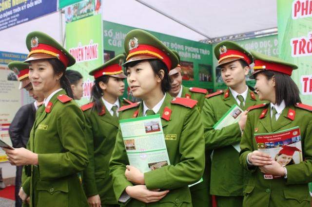 Nhóm ngành khối Công an - Quân đội