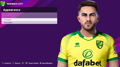 PES 2020 Faces Lucas Rupp by Rachmad ABs
