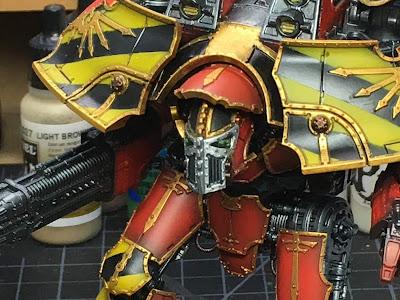 Adeptus Titanicus Legio Ignatum Warlord Titan WIP
