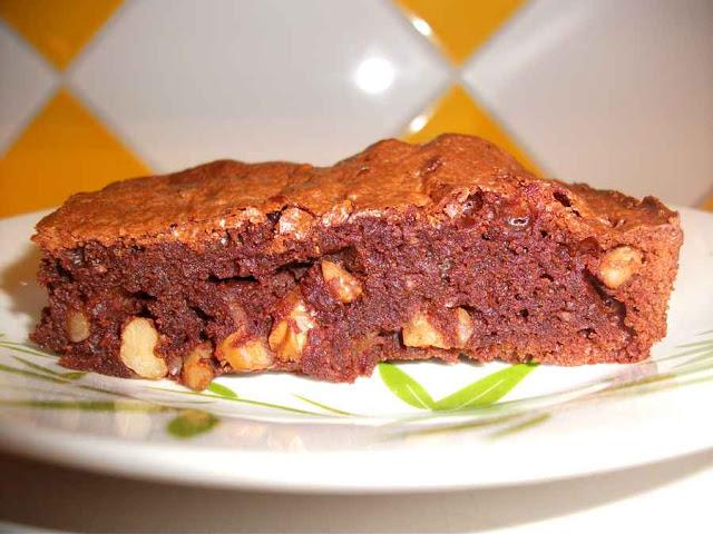 dessert pâtisserie gâteau brownie