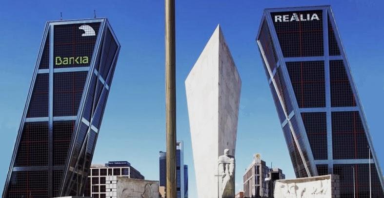 Torres kio puerta de europa en plaza de castilla cosas - Torres kio arquitecto ...