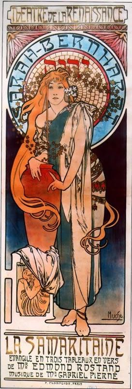 A Samaritana - Alphonse Mucha e suas principais pinturas ~ (Art Nouveau) Tcheco