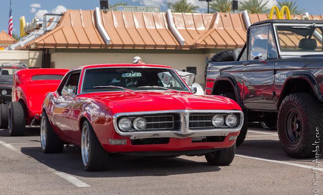 1968 Pontiac Firebird.