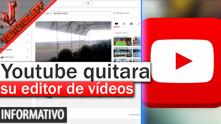Youtube quitara su editor de vídeo