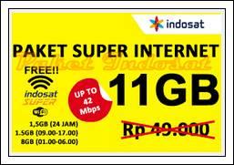 paket internet IM3 dan harganya