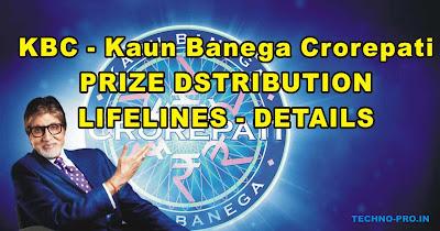 KBC%2B %2BLifelines%252C%2BPrize%2BDetails KBC - Kaun Banega Crorepati 2019 | Detailed information About this game Part - I