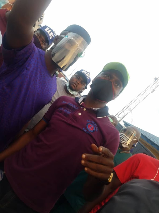 NANS NATIONAL EXECUTIVE MEMEBERS BEGIN A 3-DAY FACILITY TOUR IN ONDO STATE.
