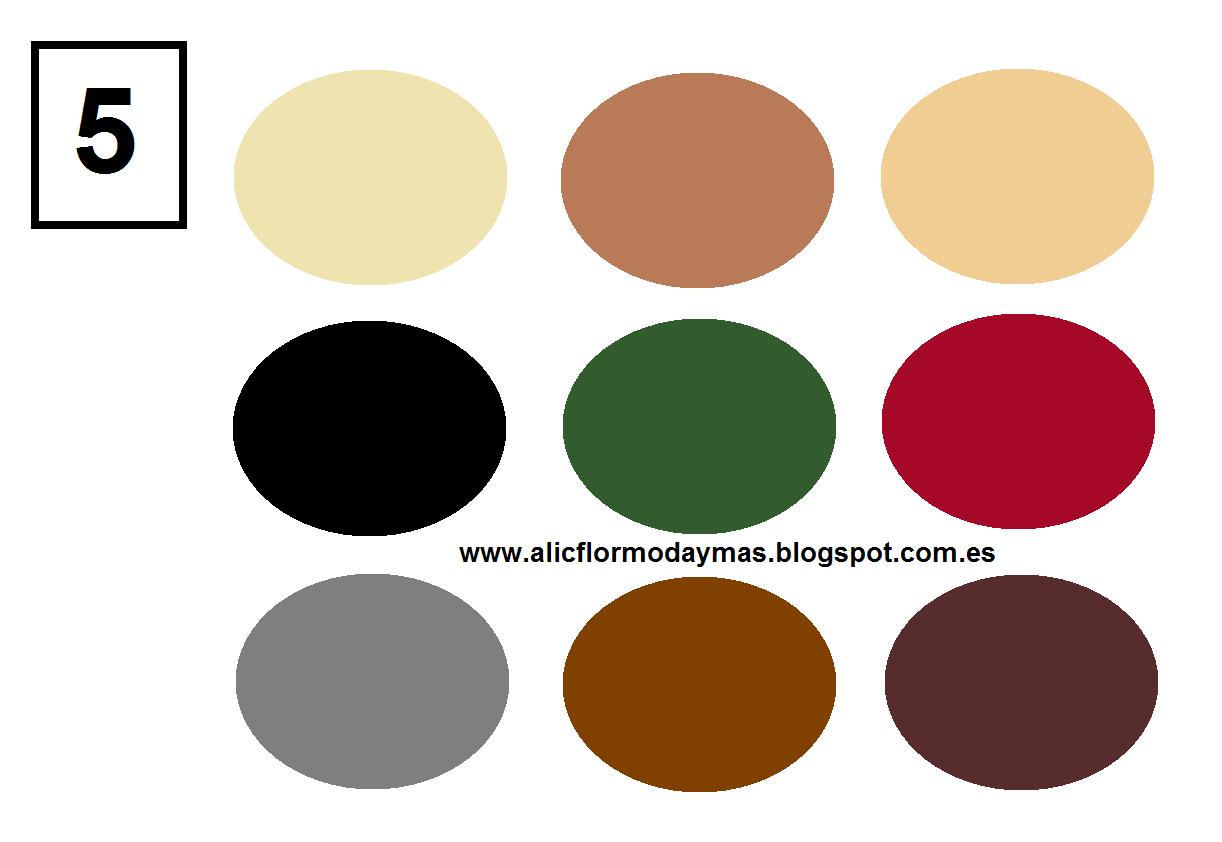 Alicflor moda y test del estilo - Paleta de colores neutros ...