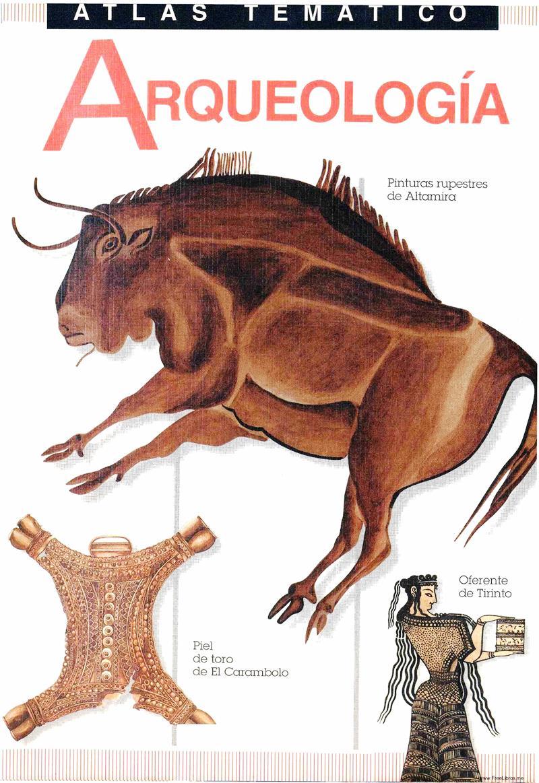 Atlas Temático de Arqueología