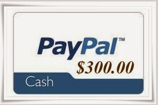 Enter the $300 Cash Giveaway. Ends 4/8.