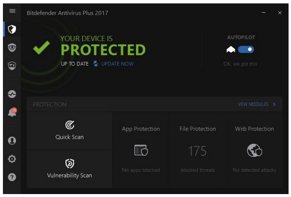 Bitdefender Antivirus Plus 2017 Offline Installer review
