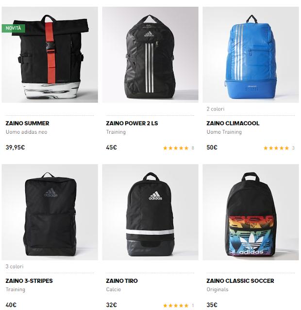Zaino scuola Adidas 2016